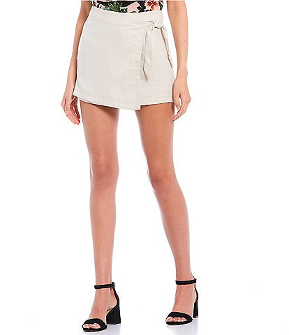 Evolutionary Side-Tie Wrap Skort