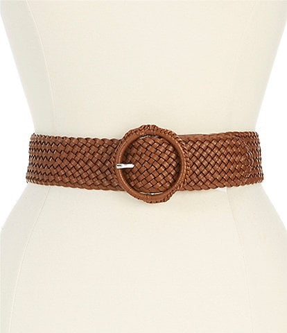 Fashion Focus 2#double; Braided O Ring Belt
