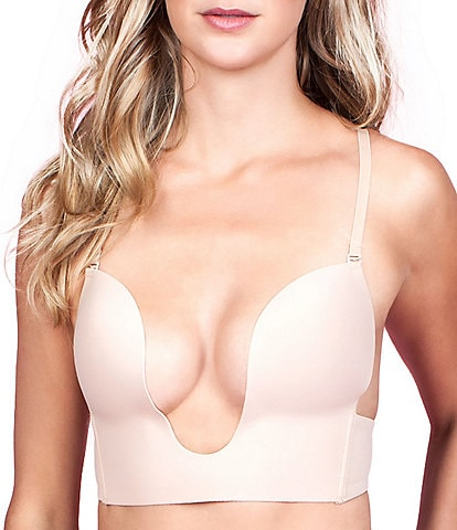 Fashion Forms Convertible Seamless U-Plunge Contour Bra