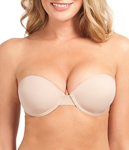 Fashion Forms Go Bare Ultimate Boost Backless Strapless Push-Up Bra