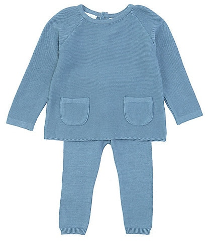 Feltman Brothers Baby 12-24 Months Knit Long Sleeve Pocket Top & Legging Set