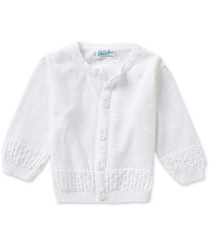 Feltman Brothers Baby Boys Newborn-24 Months Diamond Pattern Knit Cardigan