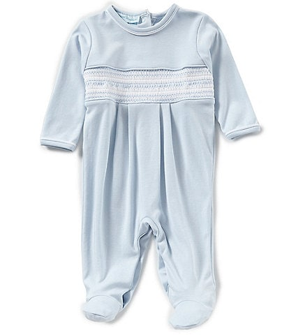 Feltman Brothers Baby Boys Newborn-9 Months Diamond Smocked Coverall