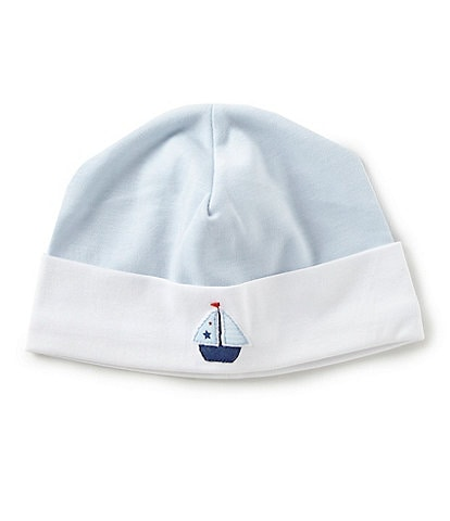 Feltman Brothers Baby Boys Newborn Sailboat Embroidered Hat