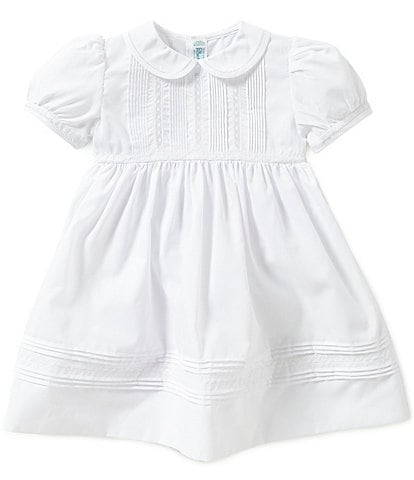 Feltman Brothers Baby Girls 12-24 Months Pintuck and Lace Dress