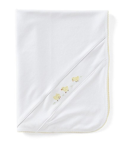 Feltman Brothers Chick Embroidered Blanket