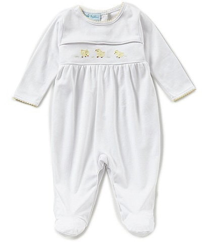 Feltman Brothers Baby Newborn-9 Months Chick Embroidered Coverall