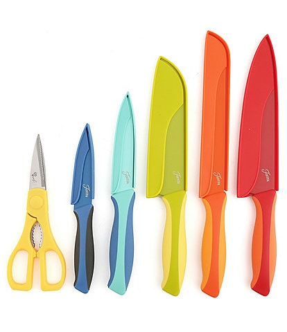 Fiesta 11-Piece 2-Tone Cutlery Set