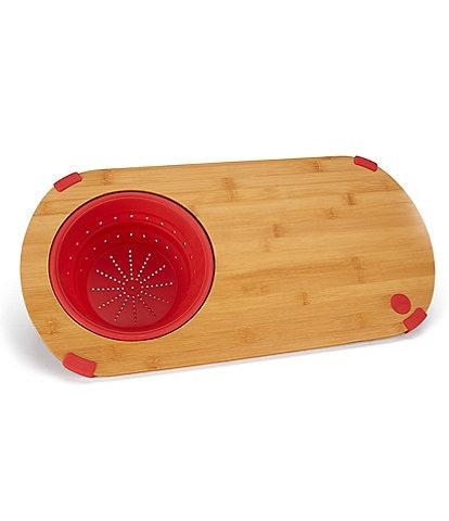 Fiesta Bamboo & Colander Cutting Board