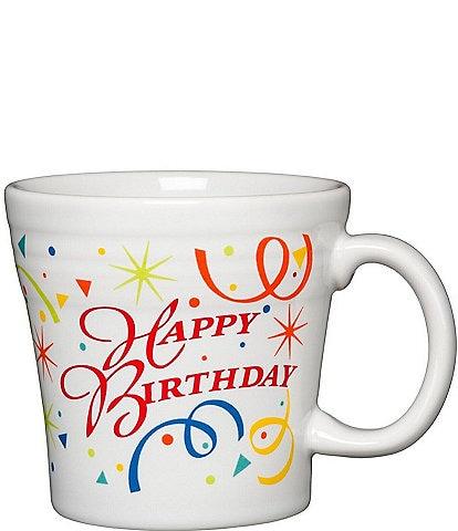Fiesta Celebration Collection Happy Birthday Tapered Mug