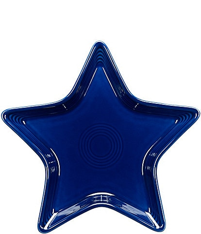 Fiesta Ceramic Star Plate