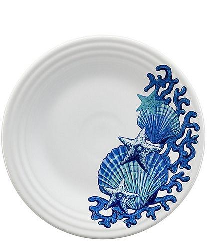 Fiesta Coastal Luncheon Plate