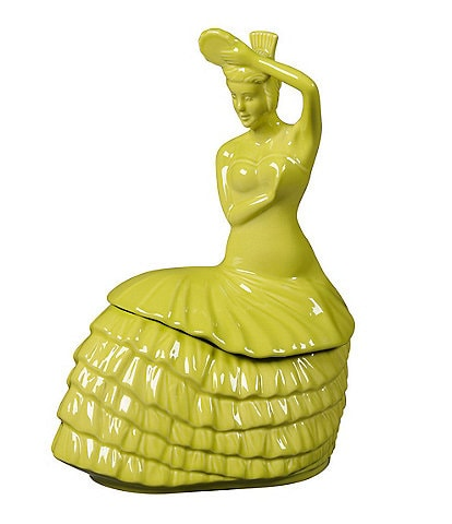 Fiesta Dancing Lady Cookie Jar