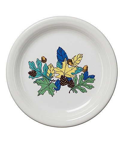 Fiesta Festive Fall Collection Fantasy Blue Appetizer Plate