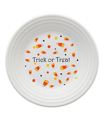 Fiesta Halloween Candy Corn Luncheon Plate