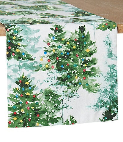 Fiesta Holiday Collection Deck the Halls 72#double; Table Runner