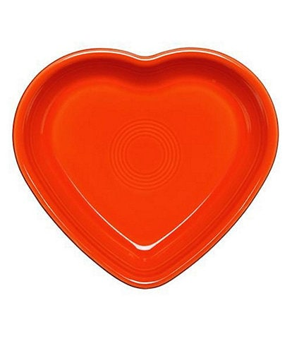 Fiesta Large Ceramic Heart Bowl