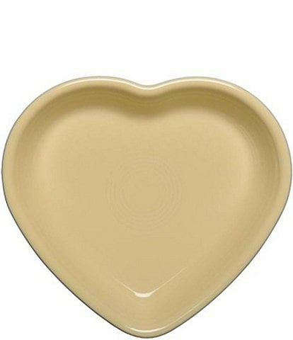 Fiesta Medium Ceramic Heart Bowl Baking Dish
