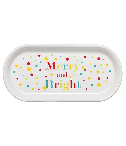 Fiesta #double;Merry and Bright#double; Bread Tray