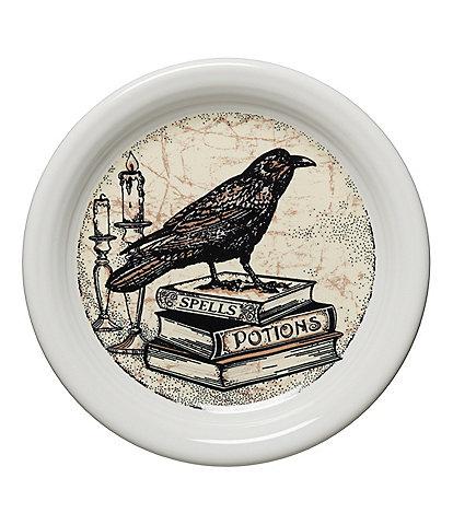 Fiesta Mystical Halloween Raven 6.5#double; Appetizer Plate