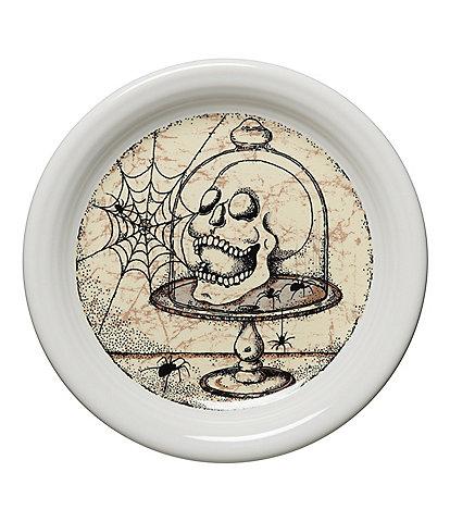 Fiesta Mystical Halloween Skull 6.5#double; Appetizer Plate