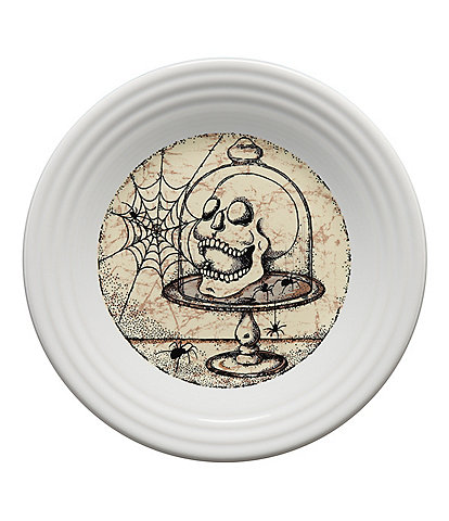 Fiesta Mystical Halloween Skull 9#double; Luncheon Plate