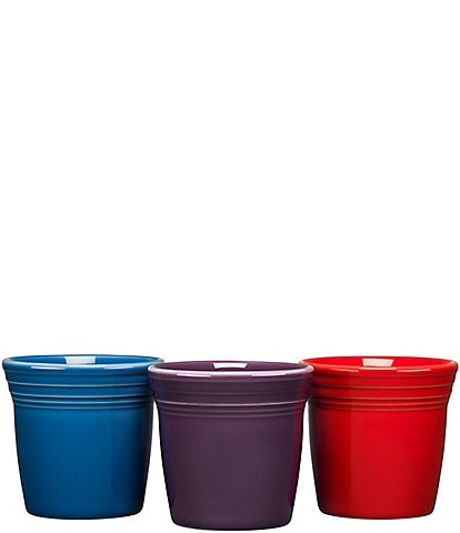 Fiesta New Bold Flower Pots, Set of 3