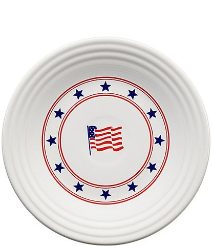 Fiesta Patriotic Flag Luncheon Plate