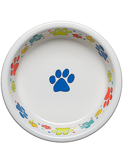 Fiesta Scatter Dog Paw Bowl