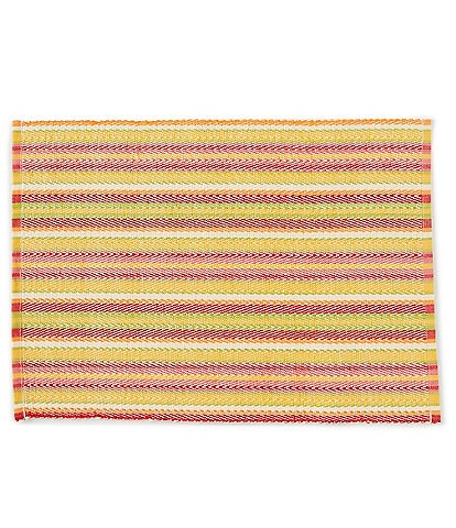 Fiesta Siesta Striped Woven Cotton Placemat