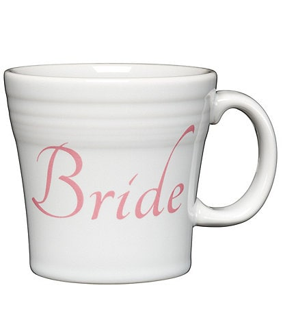 Fiesta Wedding Collection #double;Bride#double; 15 oz. Tapered Mug