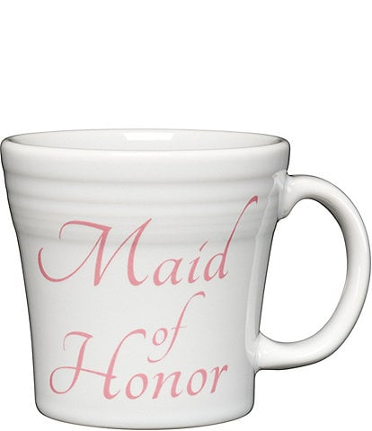 Fiesta Wedding Collection #double;Maid of Honor#double; 15 oz. Tapered Mug