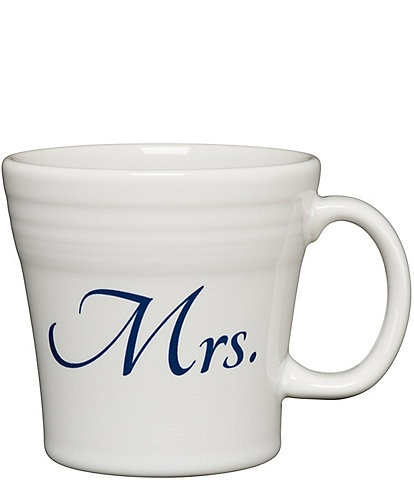 Fiesta Wedding Collection #double;Mrs.#double; 15-oz Tapered Mug