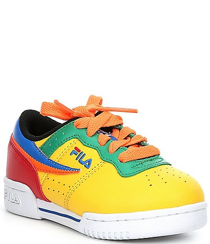 FILA Kids' Original Fitness Lace-Up Sneakers (Infant)