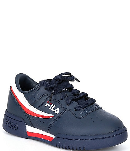 FILA Kids' Original Fitness Logo Detail Lace-Up Sneakers (Youth)