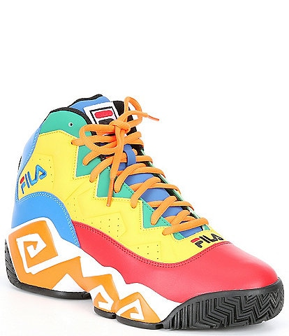 FILA Men's MB Lace-Up Basketball Shoes