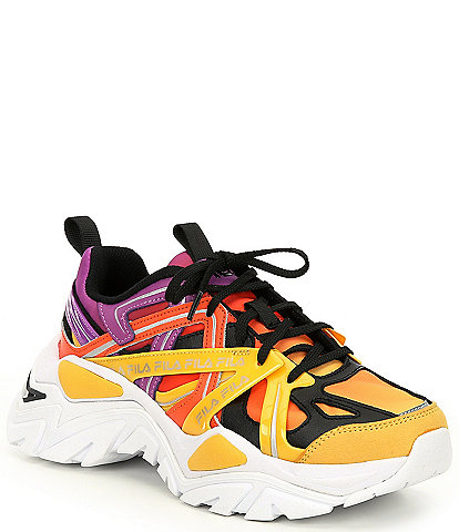 FILA Women's Electrove 2 Chunky Lace-Up Sneakers