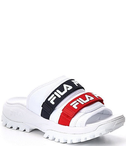 FILA Women's Logo Outdoor Slides