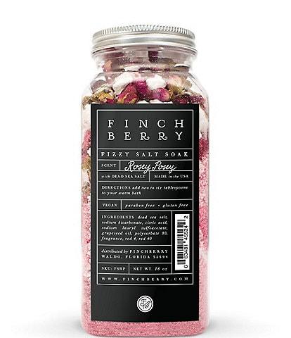 Finchberry Rosey Posey Fizzy Salt Soak