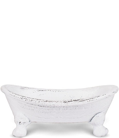 Finchberry Vintage Iron Bathtub Soap Dish