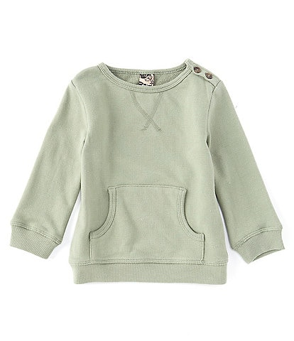 First Wave Baby 12-24 Months French Terry Pullover