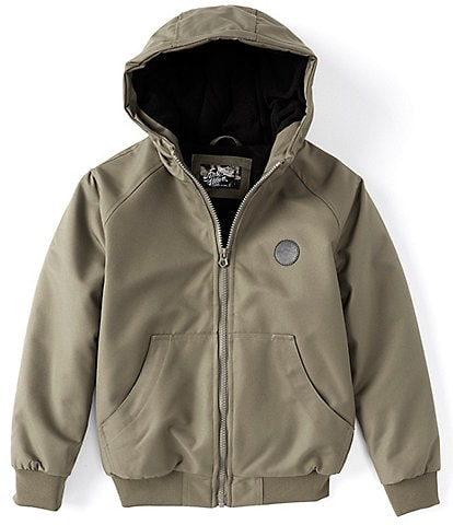 First Wave Big Boys 8-20 Hooded Twill Bomber