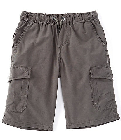 First Wave Big Boys 8-20 Pull-On Cargo Shorts