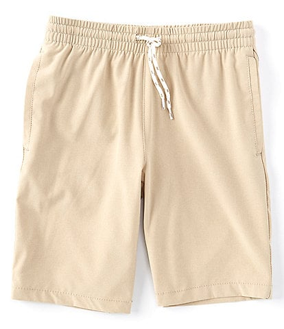 First Wave Big Boys 8-20 Pull-On Crosshatch Synthetic Shorts