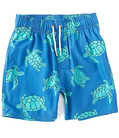 First Wave Big Boys 8-20 Turtle Swim Trunks