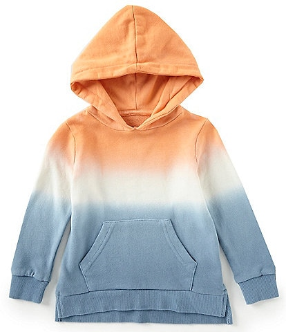 First Wave Little Boys 2T-7 Dip Dye Hoodie