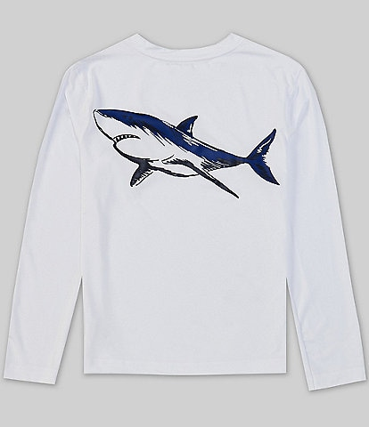 First Wave Little Boys 2T-7 Long-Sleeve Fish Graphic Rashguard