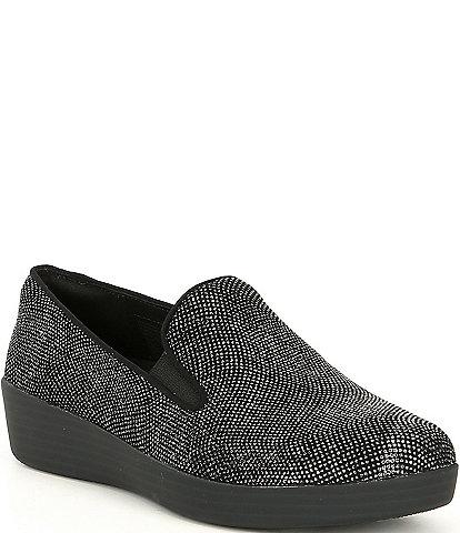 FitFlop Superskate Embellished Platform Loafers