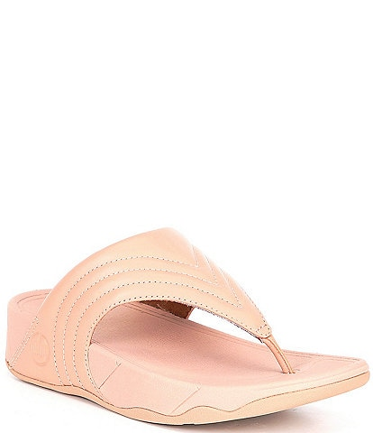 Fitflop Walkstar Leather Toe Post Sandals