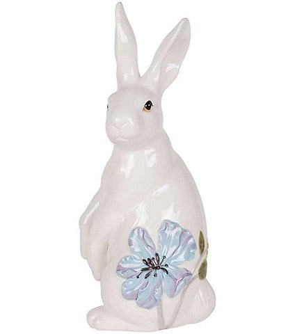 Fitz and Floyd Butterfly Fields Standing Rabbit Figurine